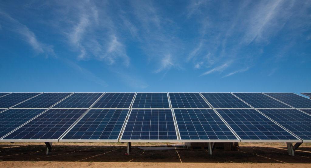 Energía Solar paneles para eléctricidad