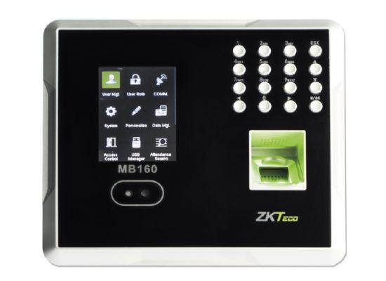 Lector Biométrico / RECONOCIMIENTO FACIAL / Huella / Control de Acceso y Tiempo & Asistencia / 1200 rostros / 1500 huellas / Incluye función ADMS