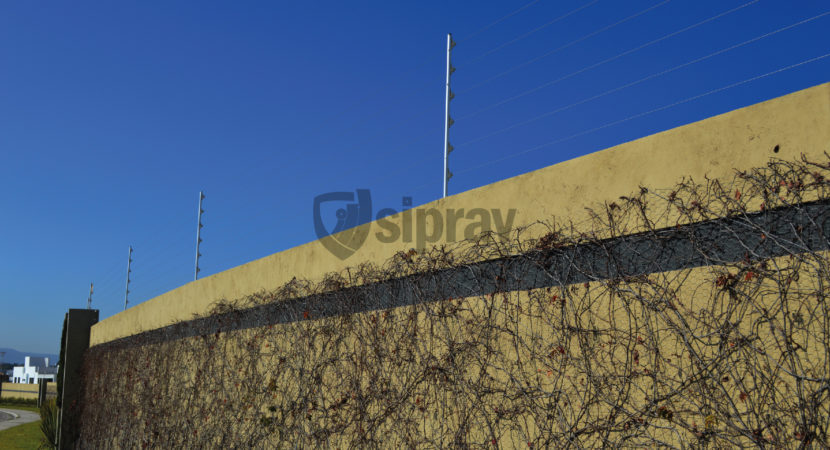 Malla Eléctrica Mallas con Electricidad en Fraccionamiento.